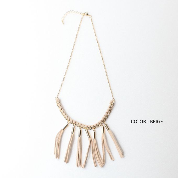 【Tassel necklace】タッセルネックレス11-110311